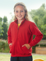 Fruit of the Loom Classic Sweat Jacket 80/20 Kids