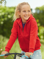 Fruit of the Loom Premium Hooded Sweat Jacket 70/30 Kids