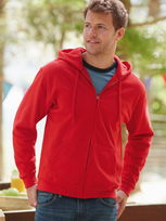 Fruit of the Loom Classic Hooded Sweat Jacket 80/20