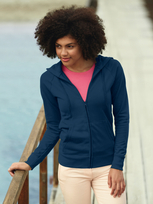 Fruit of the Loom Lightweight Hooded Sweat Jacket Lady-Fit