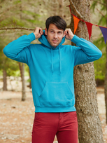 Fruit of the Loom Classic Hooded Sweat 80/20
