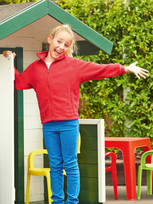 Fruit of the Loom Full Zip Fleece Kids