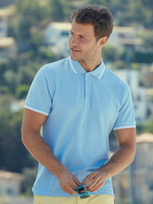 Fruit of the Loom Premium Tipped Polo